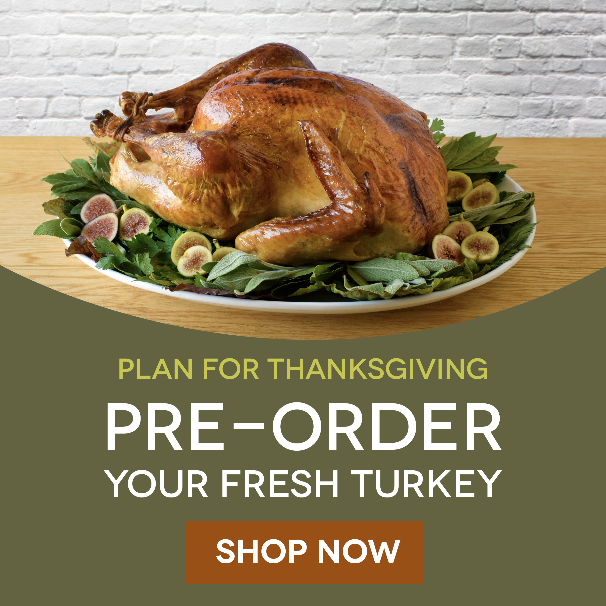 Thanksgiving Pre-Orders