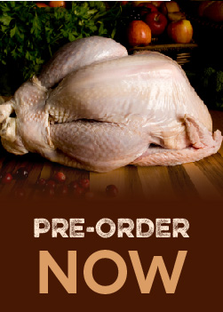 Pre-Order Your Turkey